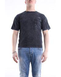 Off-White c/o Virgil Abloh Camiseta de manga corta en color - Azul