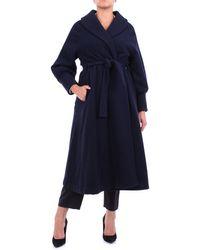 L'Autre Chose Prendas de abrigo largo - Azul