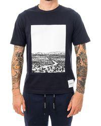 Calvin Klein T-shirt photographic road regular j30j313682.chw - Blu