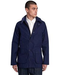 Barbour Bedale cotton bacps2151 trench - Azul