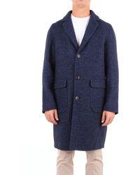 Hevò Trousse mantel - Blau