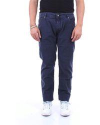 Jacob Cohen Pantalon cinq poches - Bleu