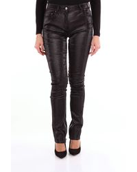 Palm Angels Jeans skinny di colore nero
