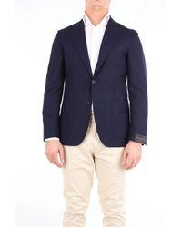 Angelo Marino Vestes veste - Bleu
