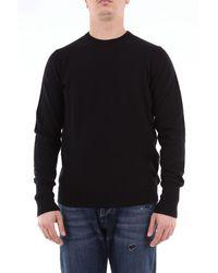 Drumohr Suéter de cachemir color liso - Negro
