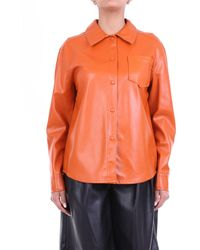 WEILI ZHENG Camicia generica di color arancio - Arancione
