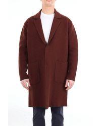 Hevò Er hatte einen langen Mantel Oberbekleidung lang - Braun