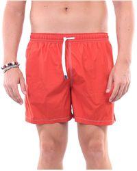 Fedeli Traje de baño pantalones cortos mar - Rojo