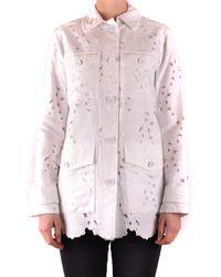 Michael Kors Prendas de abrigo largo - Rosa