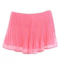 Patrizia Pepe Minifalda color coral - Rosa