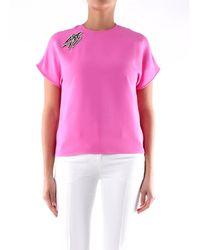 N°21 - Blusa di colore rosa con maniche corte - Lyst