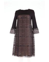 Alberta Ferretti Trousse vêtements - Noir
