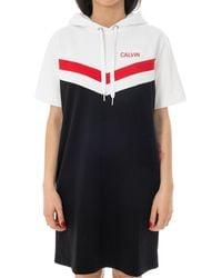Calvin Klein Vestito cheerleader j20j211352.099 - Nero
