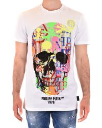 Philipp Plein Camiseta - Blanco