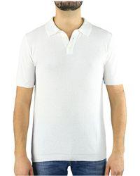 Roberto Collina Camiseta manga corta - Blanco