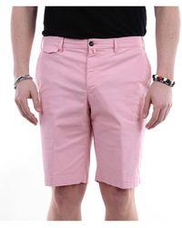 PT Torino Pantalones cortos bermudas - Rosa