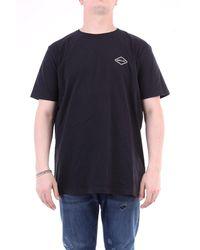 Replay T-shirt à manches courtes en noir