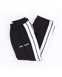 Palm Angels Pantalone sportivo per bambino di colore nero