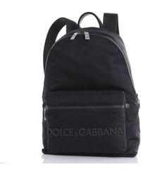 Dolce & Gabbana Zaino nylon - Nero