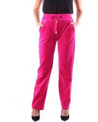 MARTA STUDIO Pantalones clásicos - Rosa