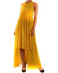 Pinko Vestidos elegante - Amarillo
