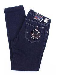 Jacob Cohen Jeans modello 688 blu scuro