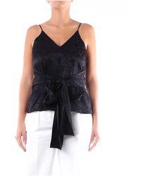 MSGM Shirts blouses - Noir
