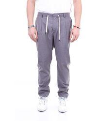 Yan Simmon Pantalones regular - Gris
