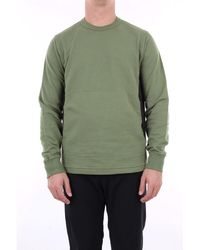 Stone Island Sweat-shirts à col rond - Vert
