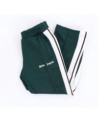 Palm Angels Pantalone sportivo per bambino di colore verdone - Verde