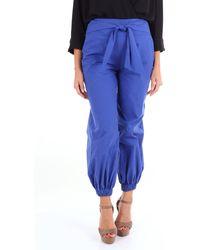 Manila Grace Trousse pantalon - Bleu