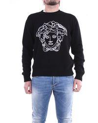 Versace Suéter de cuello redondo - Negro