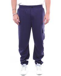 Diadora Pantalon de sport bleu marine