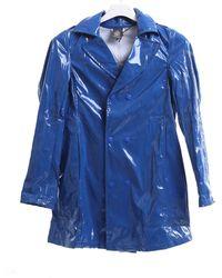 Dondup Imperméable de couleur bluette - Bleu