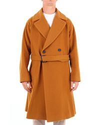 Hevò Cappotti lunghi - Arancione