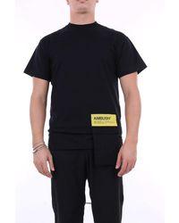 Ambush T-shirt manica corta - Nero