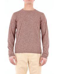 Heritage Pullover mit Rundhalsausschnitt - Braun