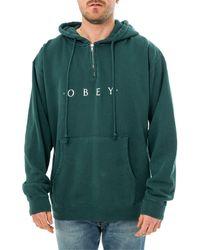 Obey Felpa novel 112751578 - Verde