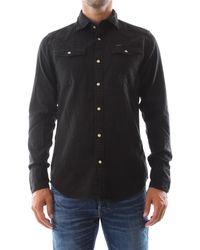 G-Star RAW Camicia uomo realizzata in cotone compatto 100% - Noir
