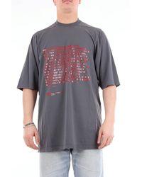 Rick Owens Drkshdw T-shirt manica corta - Grigio