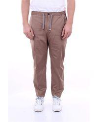 Pal Zileri Pantalón marrón claro - Multicolor