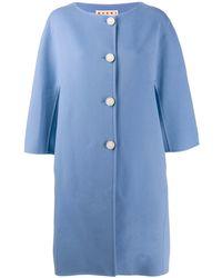 Marni Prendas de abrigo ropa calle - Azul