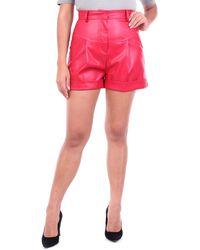 ACTUALEE Pantalones cortos bermudas - Rojo