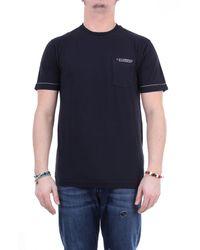 C.P. Company Cp company camiseta negra con cuello redondo - Negro