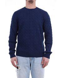 Heritage Suéter de cuello redondo blue - Azul