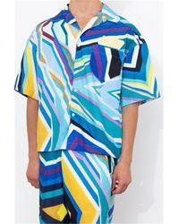 Formy Studio Oceano shirt xl blue - Bleu