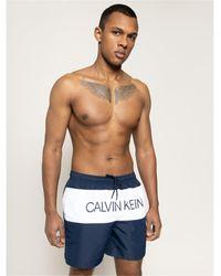 Calvin Klein Costume mare e piscina nero