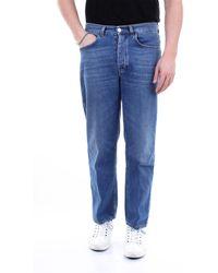 Haikure Pantalones vaqueros rectos - Azul