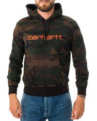 Carhartt WIP Felpa hooded sweatshirt i027093.05p - Multicolore