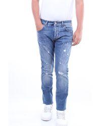 Entre Amis Pantalones vaqueros delgado - Azul